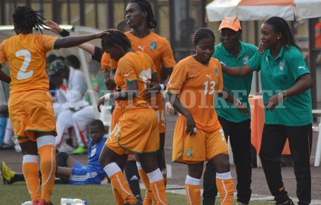 La C�te d'Ivoire en demie !