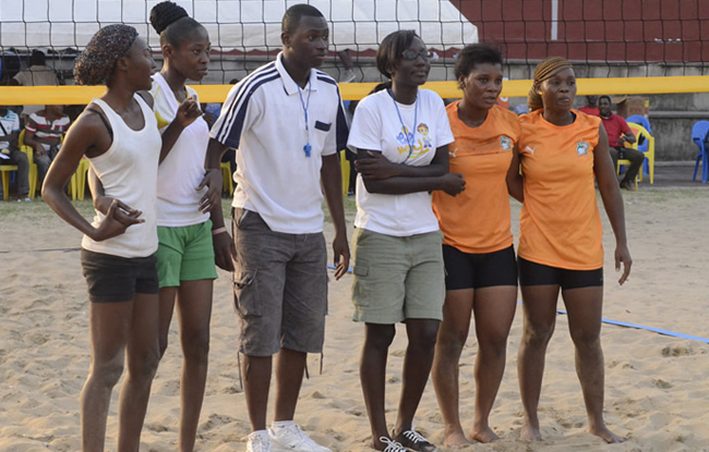 Le beach-volley qualifi�