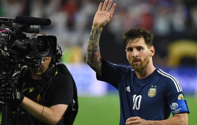Messi  prend sa retraite
