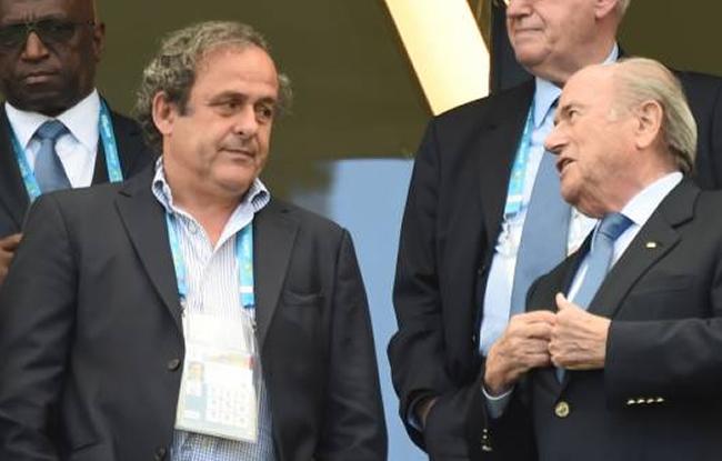 Platini pas � la FIFA