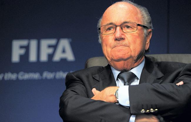 Sepp Blatter r��lu !