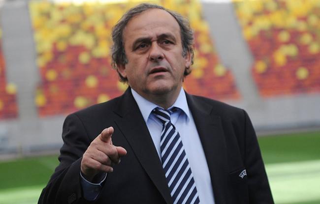 Platini candidat � la FIFA