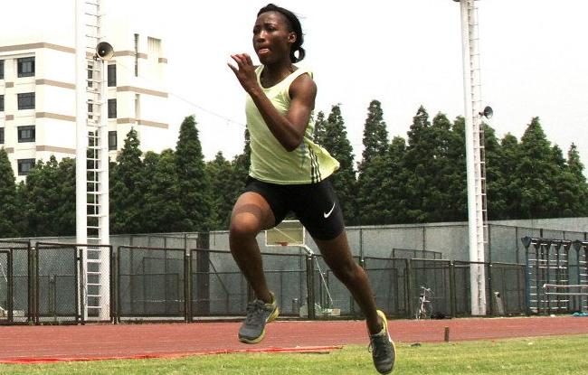 Marie-Jos�e Ta Lou : � Travailler mon finish �