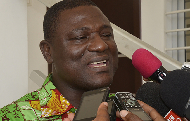 Isaac Angbo: � Je ferai mon travail �