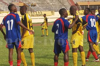Football/ MTN Ligue 1, 6e journée, USCB-ASCO (2-0) : L'USC Bassam menace l'Asec