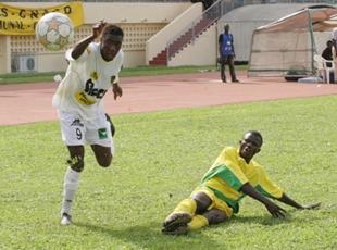 Football/ MTN Ligue 1, 9e journée: L'Asec cale, le Denguélé se reprend