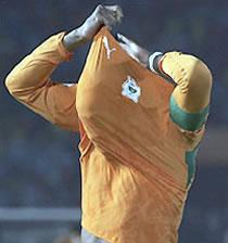 Football/ Eléphant de Côte d'Ivoire: CAN 2008 compromise pour Drogba