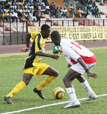 Football/ 23e journée Championnat de Ligue 1 : Daloa menace l'ASEC