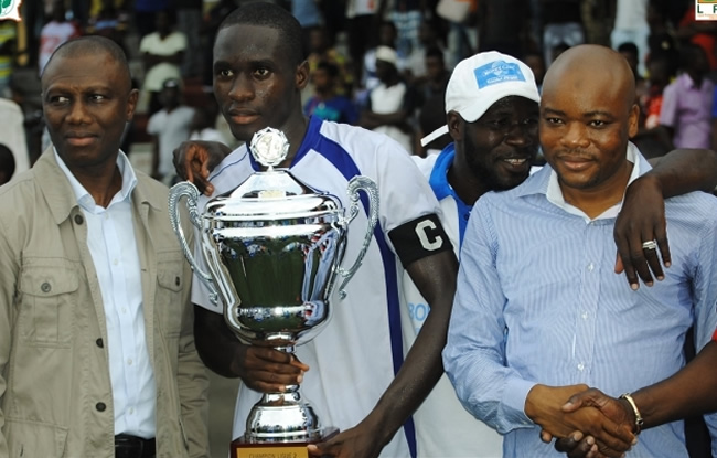 Bouaké FC champion !