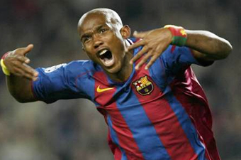 Football/ CAN 2008: Eto'o pris dans un étau
