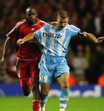 Football/ UEFA Champions League: Cana et Marseille attendent du soutien