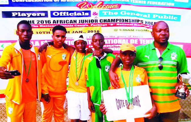 La Côte d'Ivoire en Coupe Davis