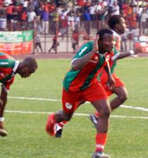 Football/ 21e journée Championnat national: Ottro cramponnent les Aiglons