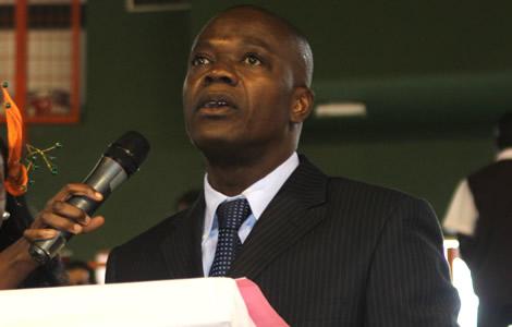 Joseph Ouéréga candidat à sa propre succession