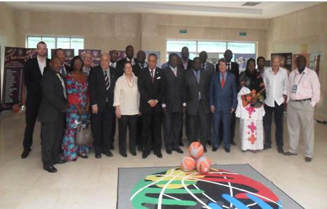 L' organisation de l' Afrobasket 2013  était au menu
