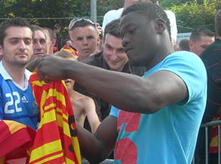 Monaco presse Aruna