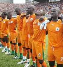 Football/ Amical : La Côte d'Ivoire défaite par l'Angola
