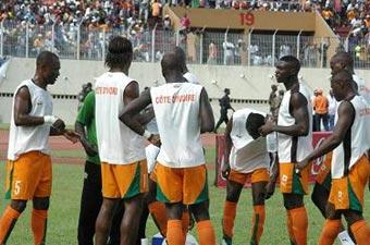 Football/Can 2008: Les Eléphants  au Ghana aujourd'hui