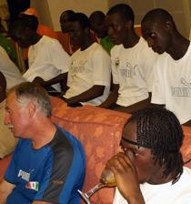 Football/ Eliminatoires J.O 2008: GBAGBO offre 10 millions aux Eléphants Espoirs