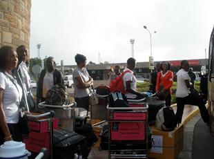Le CSA, premier arrivé à Nairobi