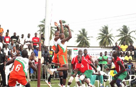 Double confrontation, Côte d'Ivoire-Burkina, en finale