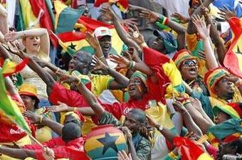 CAN 2008 cérémonie d'ouverture: Akwaba Ghana!