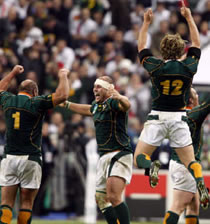 Rugby/ Coupe du Monde France 2007: L'Afrique du Sud championne du monde