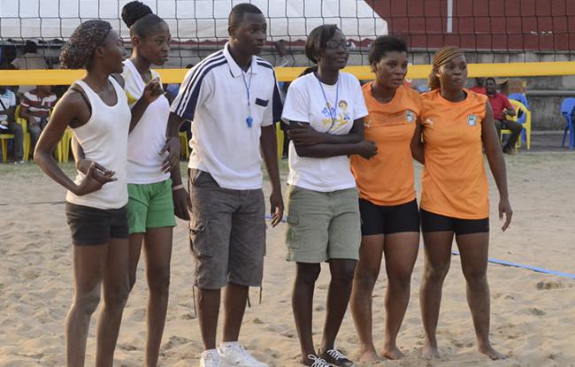 Le beach-volley qualifié