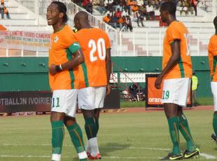 La Côte d'Ivoire si proche d'Afrique du Sud 2010