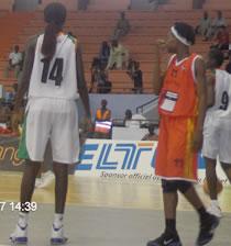 Can Basket Dame Dakar 2007 2è journée : La Mozambique domine la côte d'ivoire.