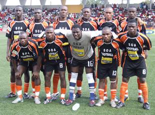 La SOA garde le ticket de la Coupe CAF