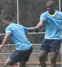 Football/ Barcelone : Eto'o et Yaya Touré seront libérés pour la CAN 2008