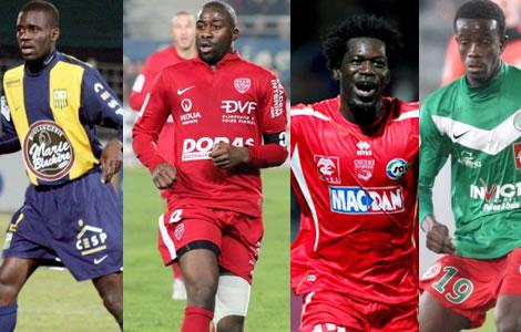Les 19 Ivoiriens qui font la Ligue 2