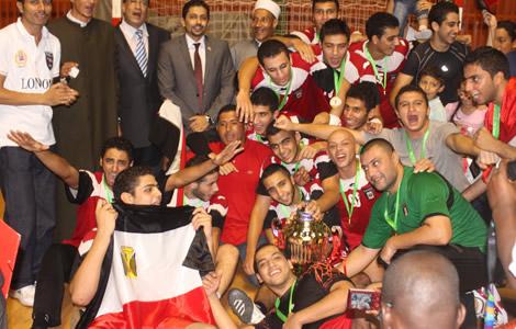 L'Egypte confirme son règne chez les cadets