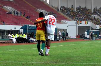CAN 2008/ Guinée-Namibie (1-1) : Le Syli accompagne le Ghana en quart