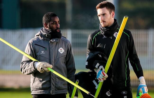 Copa Barry , nouveau coach des gardiens de but à OH Louvain.