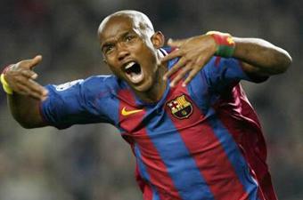 Football/ CAN 2008: Eto'o pris dans un étau