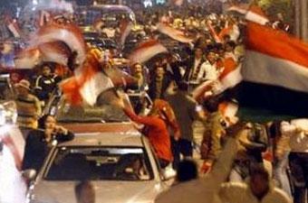Accueil triomphal au Caire pour les Pharaons champions d`Afrique