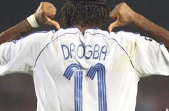 Football/ Drogba : «Je suis une star à Chelsea»