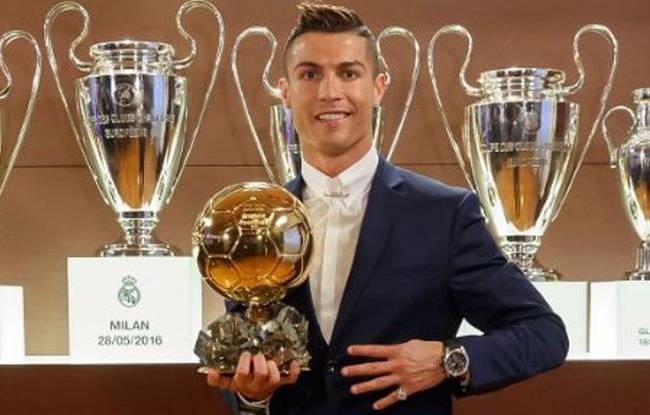 Cristiano Ronaldo bien sûr !