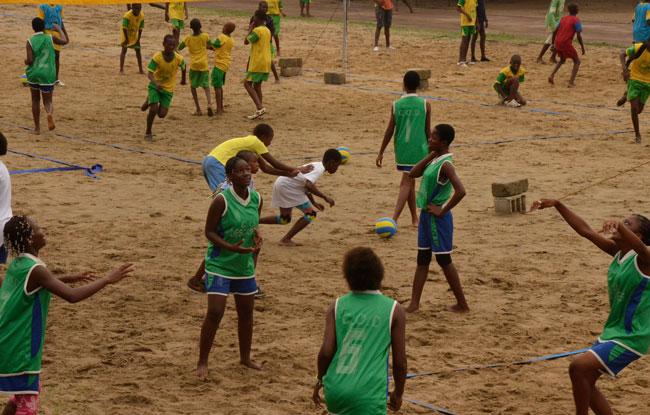 Le Beach volley en fête
