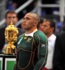 Coupe du Monde/Finale/Angleterre - Afrique de Sud: Le rescapé face à son bourreau